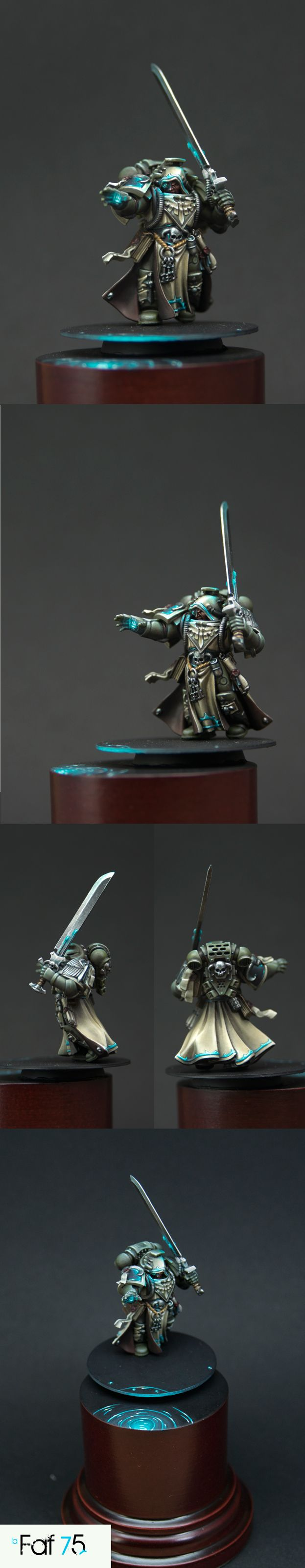 Psyker Dark Angel. The paint job on this is amazing.