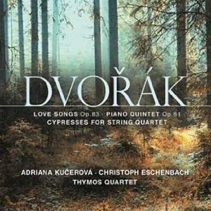 Amazon.com: Love Songs Op 83 / Cypresses: Dvorak, Thymos Quartet, Richard, Chijiiwa, Antonin Dvorak, Tymos Quartet: Music
