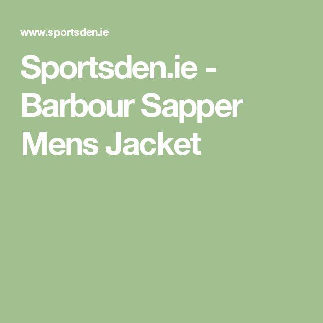Sportsden.ie - Barbour Sapper Mens Jacket