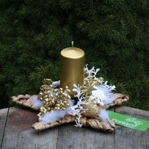 Vánoční věnce a adventní svícny | Floresco