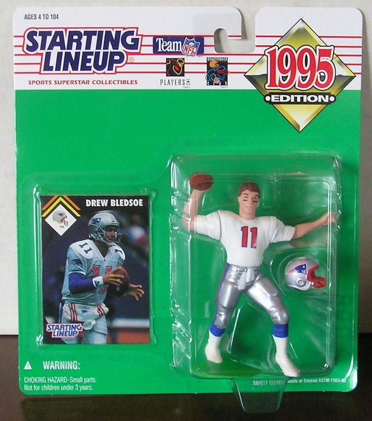 Drew Bledsoe New England Patriots NFL Starting Lineup Action Figure NFL NIB NIP #DrewBledsoe #Bledsoe #NewEnglandPatriots #Patriots #Pats #StartingLineup #NFL #ActionFigures #MarvelousMarvs
