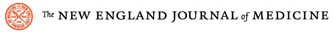 Such nice typography for the New England Journal of Medicine identity mark