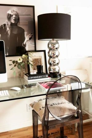 Small home offices workspaces design ideas - Could we do this in our bedroom?