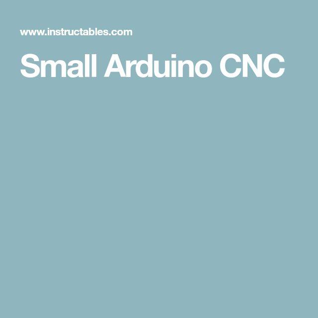 Small Arduino CNC