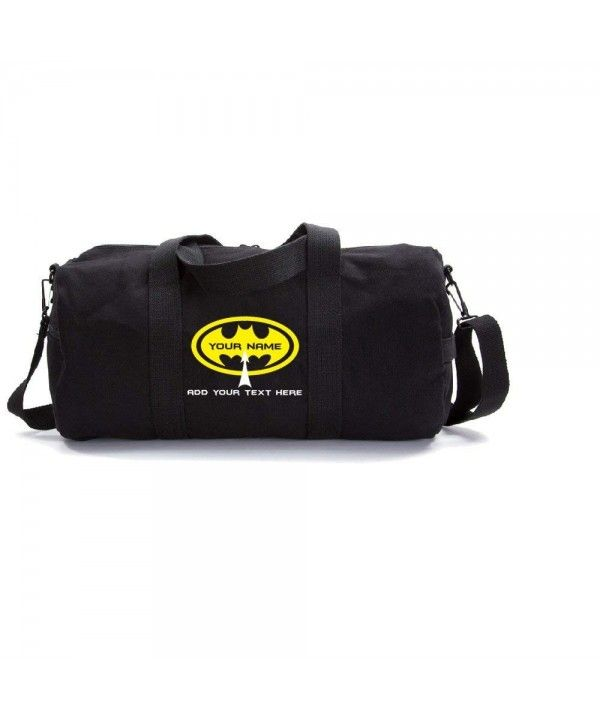 01bb9890181 Luggage   Travel Gear, Gym Bags, Personalized Custom Batman Heavyweight Canvas  Duffel Bag - Black   Yellow - CS1897X3LOR  Luggage  TravelGear  Fashion   Bags ...