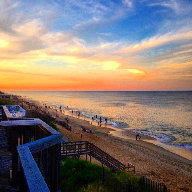 Beautiful Sunset In Duck North Carolina Iloveobx Photo By Bigrjm