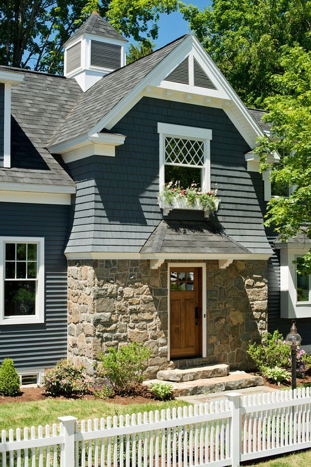 394 best charming cottages images on pinterest beautiful for Cottage siding