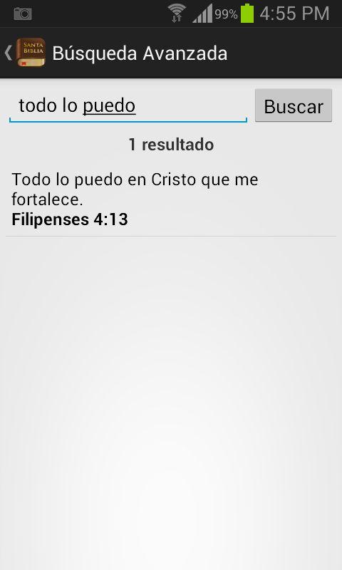 Santa Biblia Reina Valera – képernyőkép