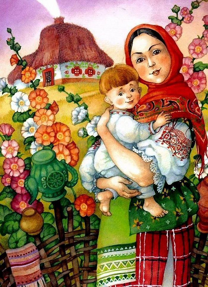 вот картинка русской матушки оценили достоинству стрижку