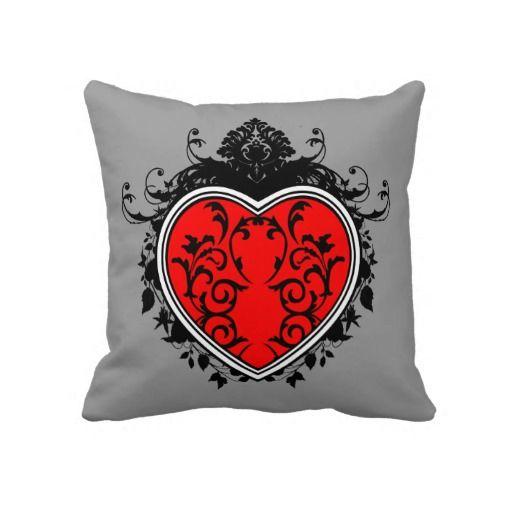 Ornate Heart Pillow