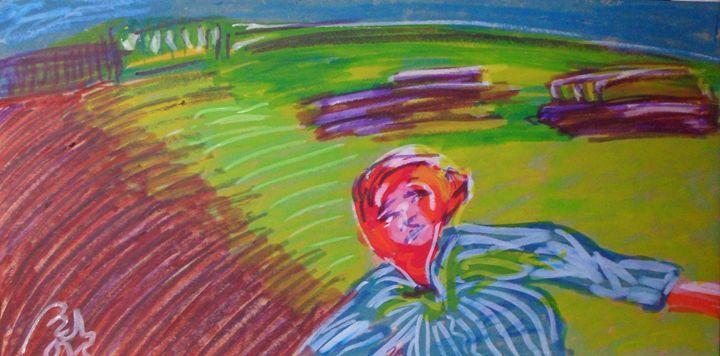 Where…? - BACHMORS #LoveArt #bachmors #contemporaryart  #metamodernism #artist #palettes #color #painting #art  #SellingArt  #MakingArt #VendoArte #ArteContemporaneo #AllStyles #metamodernismo # Saatchiart @Saatchiart @ArtPal @bachmors #expressionism