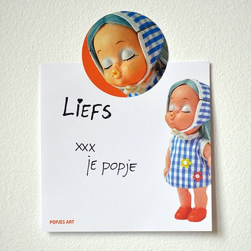 Lieve berichtjes schrijf je op de nieuwe schrijfblokjes van Popjes Art.  www.popjesartshop.nl/nl/blokje_kus
