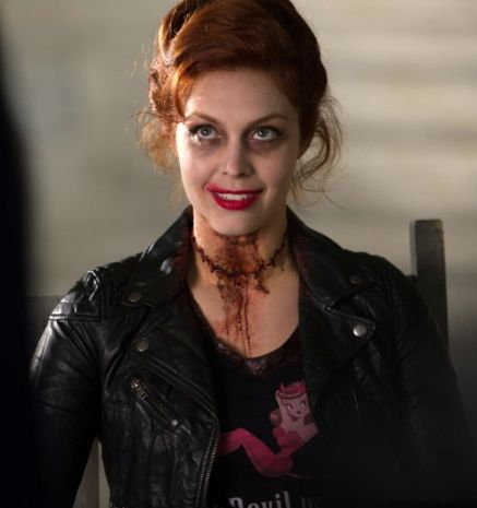 Abaddon Although Abaddon is conventional portrayed as male, Supernatural breaks that as Abaddon is a woman, and a 'Knight of Hell'.   (Supernatural Wiki, 2013)