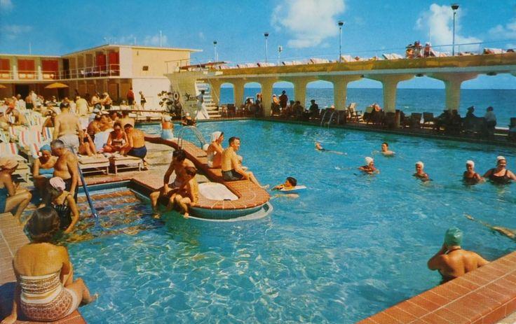 Lucerne Motel, Miami Beach, Florida 1960s