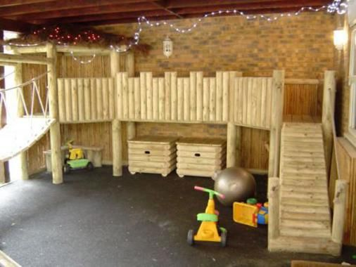 Wooden Climbing Frame - Bridge Lane Nursery | Bērnu ...