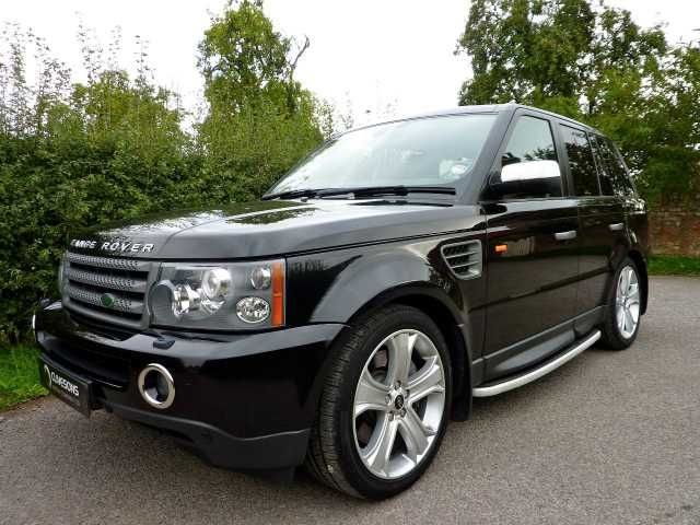 2007 Range Rover Sport 2.7 TDV6 HSE auto 4x4. Deep Black. Full dealer and specialist history. Click on pic shown for loads more.