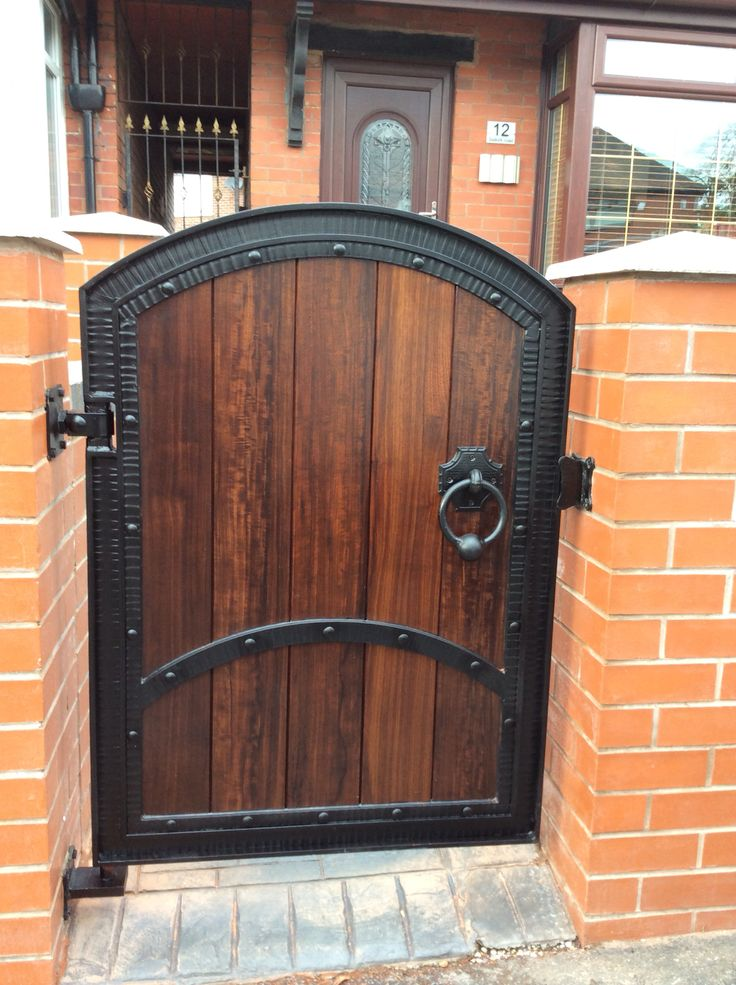 Small Wood And Wrought Iron Gates Wrought Iron Doors