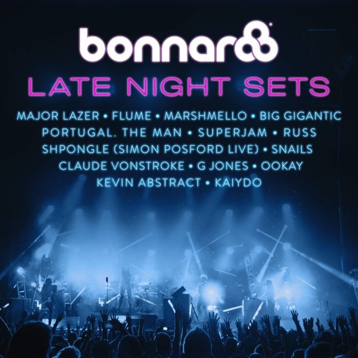 The Bonnaroo Music Festival has announced their late night acts for 2017. Performers include: Major Lazer, Flume, Marshmello, Big Gigantic, Portugal. The Man, Russ, and Shpongle (Simon Posford Live).
