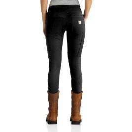 Carhartt Women's Black Force Utility Knit Legging - back