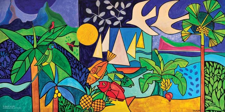 The art of Vaco Baissac from Mauritius