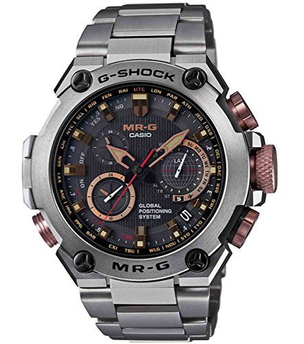 Casio G-Shock MR-G GPS Atomic Solar Hybrid MRG-G1000 MRGG...