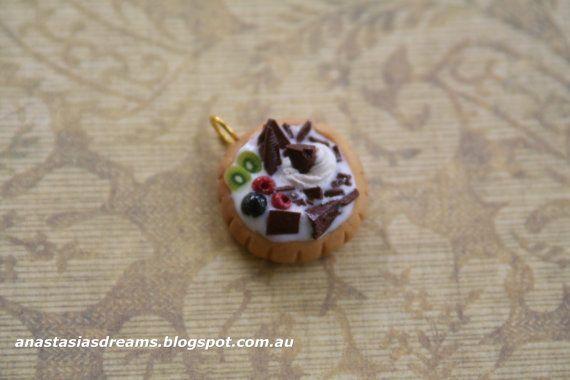 Pendant Handmade Miniature Food Jewelry by AnastasiasDreams