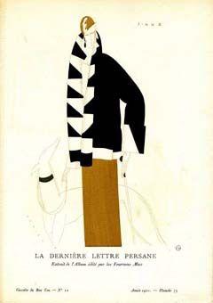 La Derniere Lettre Persane; Extrait de l'Album edite par les Fourrures Max