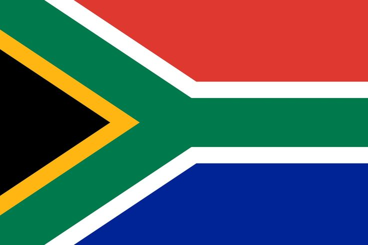 TEAM 21 olympic day....South Africa Flag