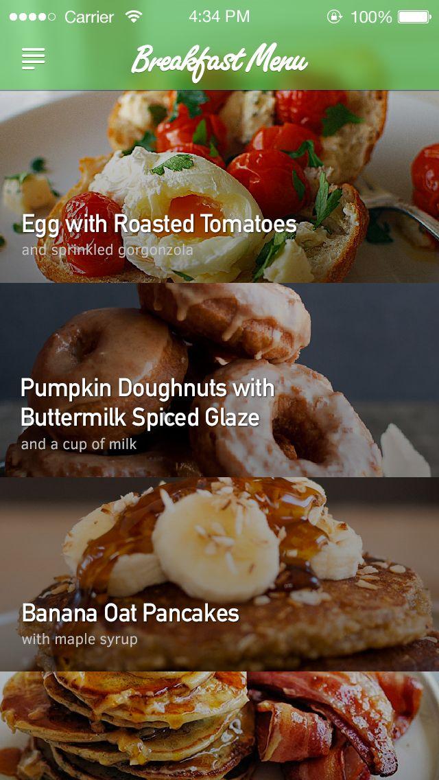 Dummy food app