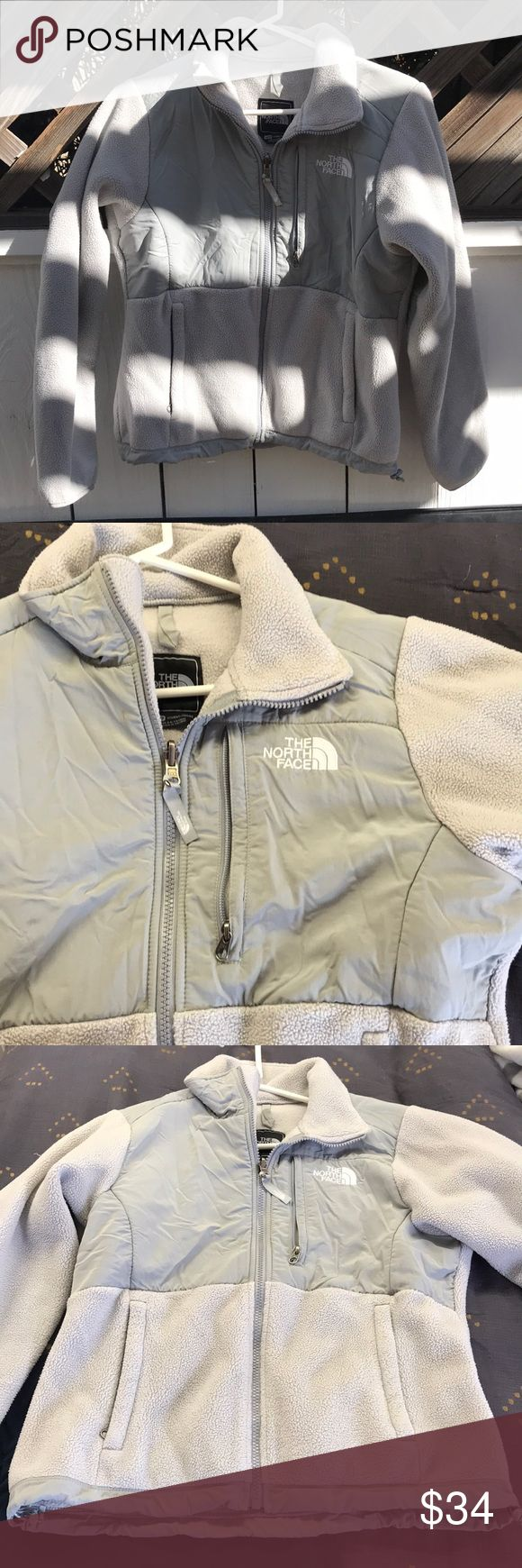 Gray woman's north face jacket Soft gray women's north face jacket North Face Jackets & Coats