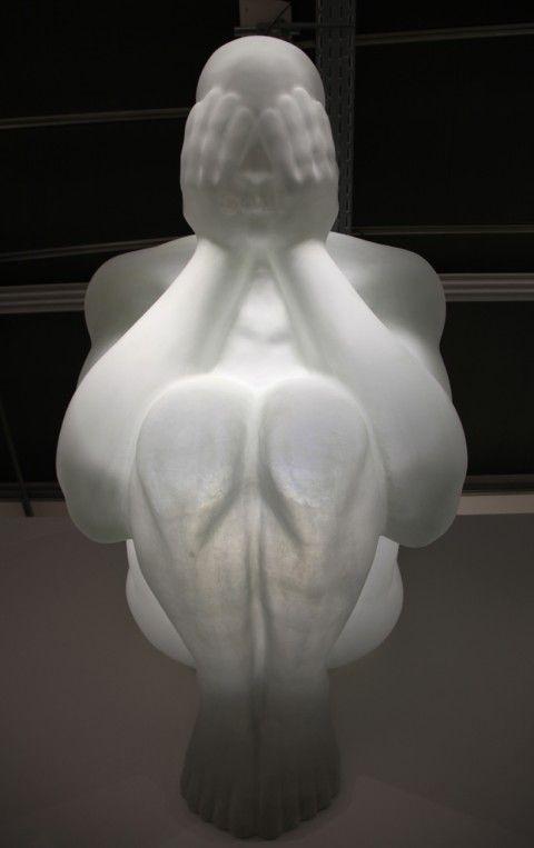 Jaume Plensa – Blind Angel @ Art Basel 2012