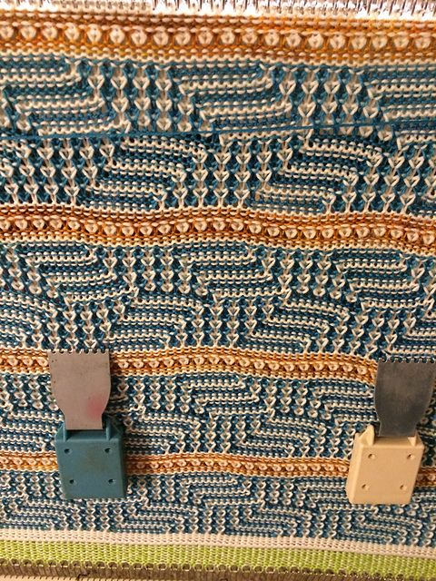 interesting variation of a manufacturer's published pattern repeat