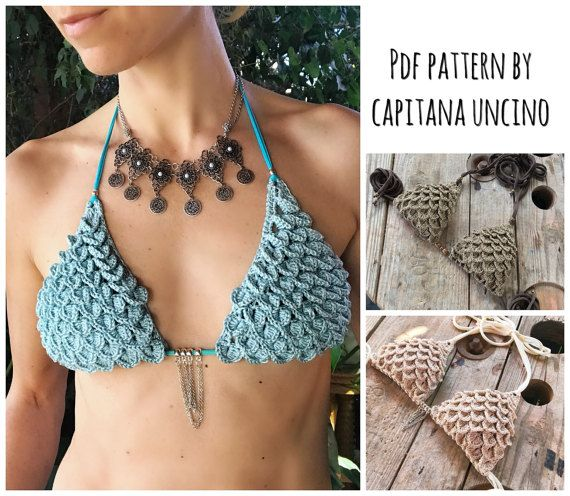 PDF-file for Crochet PATTERN Ariella Mermaid von CapitanaUncino