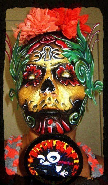 Dia de los muertos mexican skullssugar
