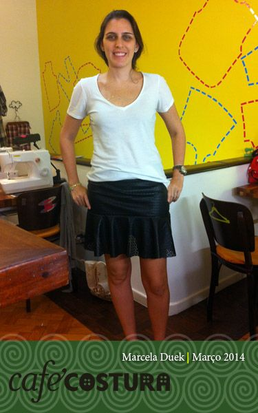 Marcela Duek uma aula, uma saia!