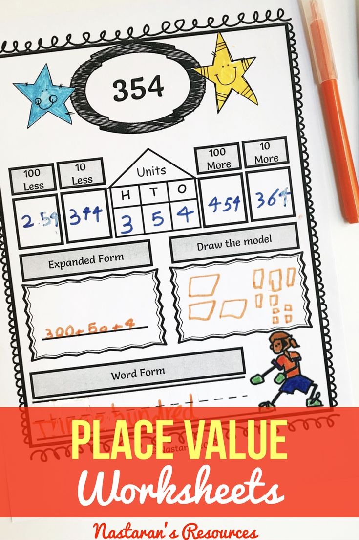 Best 25+ Place value worksheets ideas on Pinterest   Tens and ones ...