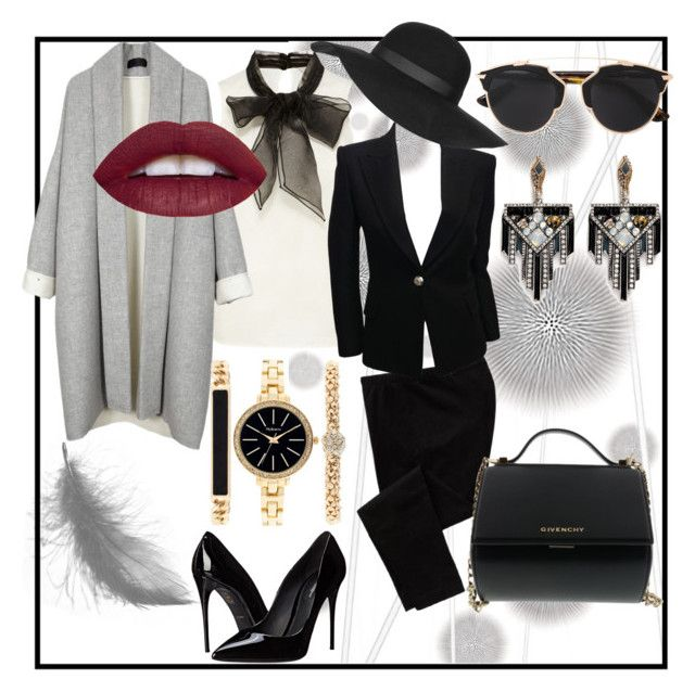 Lady of First Republic by petra-dickova on Polyvore featuring Balmain, Old Navy, Dolce&Gabbana, Givenchy, Style & Co., Lulu Frost, Topshop, Christian Dior, Komar and women's clothing