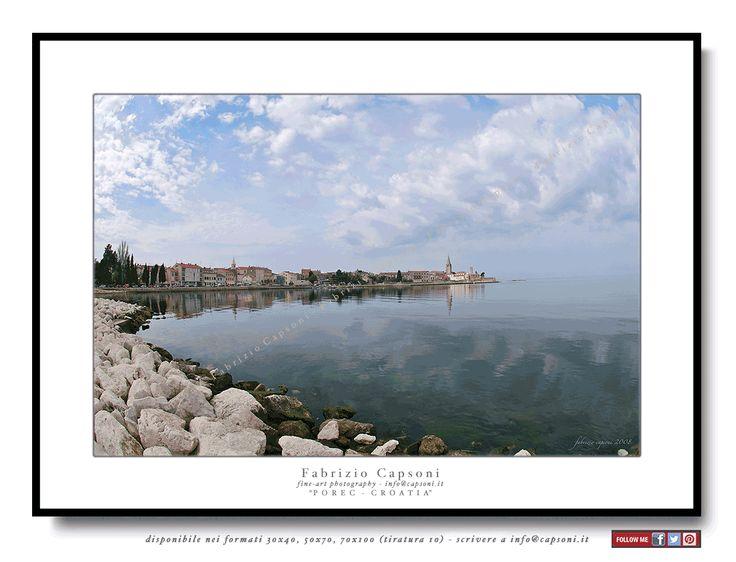 """Porec, Croatia"" - ©2008 FABRIZIO CAPSONI - Fine Art Giclée Print on cotton paper - Limited edition - #fotografia #fineart #art #Interiors #homedecor"