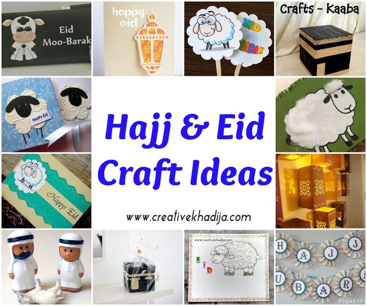 Hajj 2015-Eid Al Adha Art & Craft ideas, Learn how to make handmade Eid cards & beautiful easy arts & crafts for Eid Festivals. #CreativeCollections Ideas