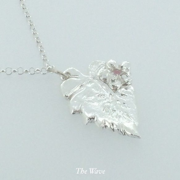 Monstera Pink - Hawaiian Jewelry -