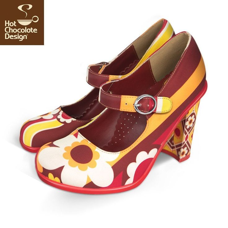 A beautiful homage to simpler times. Bring on the bell bottom pants, flower power and Rock n' Roll.ATTENTION! HEELS ARE 10 cm HIGH.Soft, Cushioned & Comfy Inner Sole.Unique, Alternative, Funky, Vintage, Retro & Quirky Designs.EASY & FAST TO WASH.Highly Addictive & Collectible.Made...