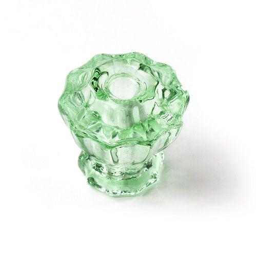 B&M Glass Knob shown here in Depression Green. #knob #cabinetknob #glassknob #glasscabinetknob #greenglass #interiordesign #interiordetail #homedecor #interioridea #homedecoration #motherofpearl #motherofpearlandsons #motherofpearltrading