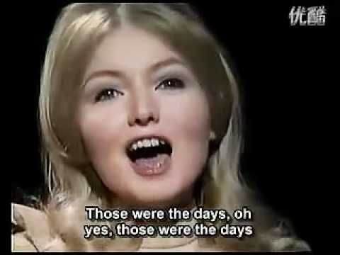 Mary Hopkin - Those Were The Days :1968- Written after a Russian Folk song