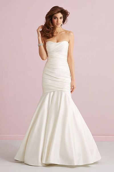 Gown by Allure Romance.Check out more gorgeous dresses in our Allure Romance gown gallery ►Photo courtesy of designer