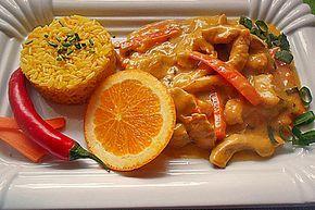 Putengeschnetzeltes mit Karotten - Orangen - Soße, ein tolles Rezept aus der Kategorie Geflügel. Bewertungen: 331. Durchschnitt: Ø 4,6.