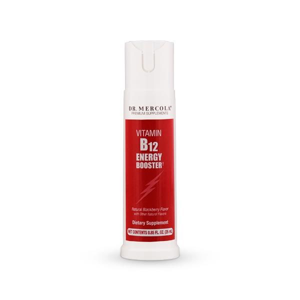 B12 Energy Booster* Spray helps you fight vitamin B12 deficiency, increase your energy, enhance your immunity, promote good mood, and support mental function. http://products.mercola.com/vitamin-b12-spray/