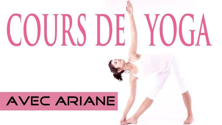 Un cours de yoga pour débutant (durée : 1 heure) avec Ariane