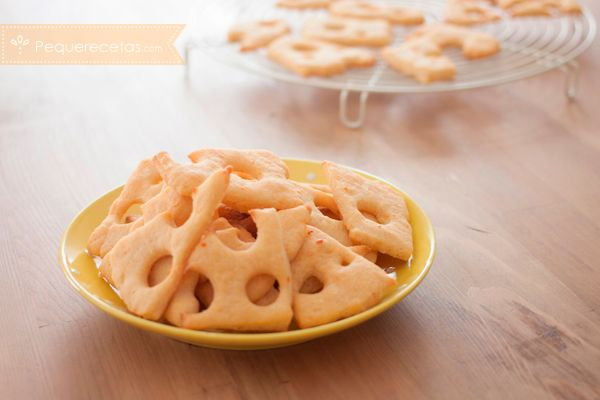 exquisitas galletas de queso chedar