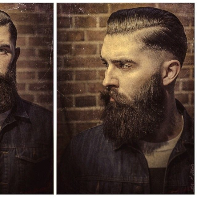 Miraculous 1000 Images About Beards On Pinterest Comb Over Medium Long Short Hairstyles Gunalazisus