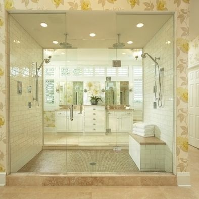 Spaces Double Shower Design, Pictures, Remodel, Decor and Ideas - page 5